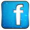 Facebook logo that links to my jamesgang creative facebook page